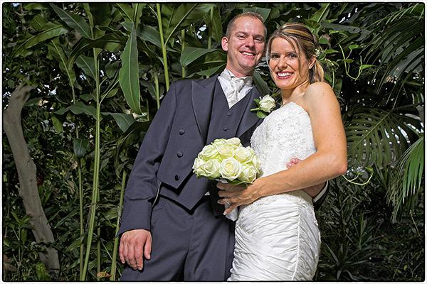 Nicole & Jörg – Mariage dans l'oasis de verdure