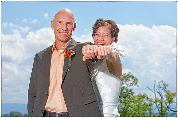 Rebecca & Manfred – Luftige Hochzeitsbilder …..